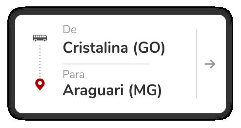 Cristalina (GO) - Araguari (MG)