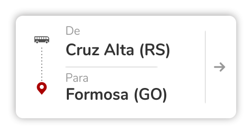 Cruz Alta (RS) - Formosa (GO)