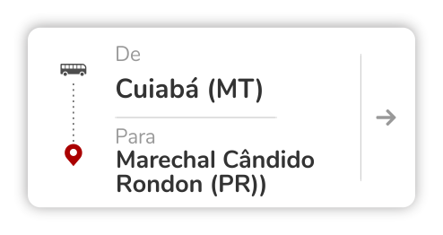 Cuiabá (MT) - Marechal Cândido Rondon (PR)