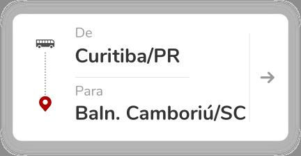 Curitiba PR - Balneário Camboriú SC
