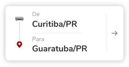 Curitiba PR - Guaratuba PR