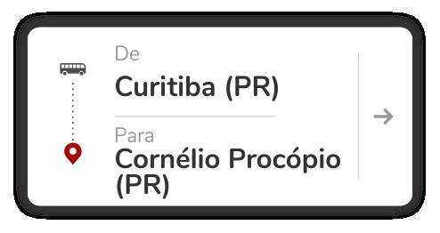 Curitiba (PR) - Cornélio Procópio (PR)