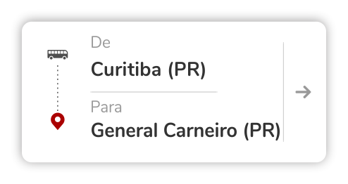 Curitiba (PR) - General Carneiro (PR)