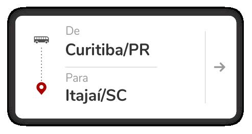 Curitiba (PR) – Itajaí (SC)
