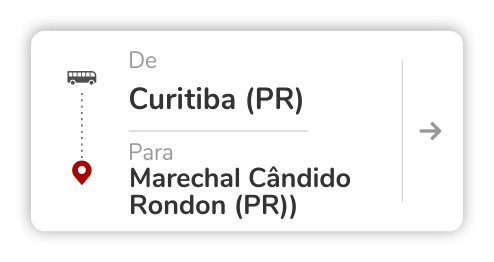 Curitiba (PR) - Marechal Cândido Rondon (PR)