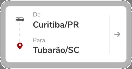 Curitiba PR - Tubarão SC
