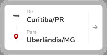 Curitiba PR - Uberlandia MG