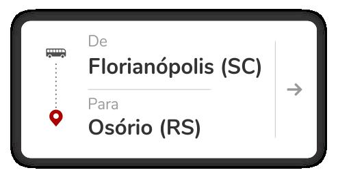 Florianópolis (SC) - Osório (RS)