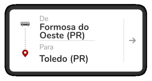 Formosa do Oeste (PR) - Toledo (PR)