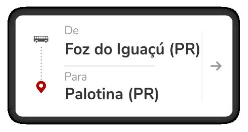 Foz do Iguaçú (PR) - Palotina (PR)
