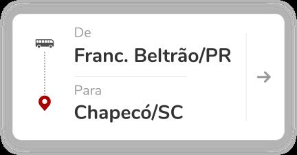 Francisco Beltrão PR - Chapecó SC