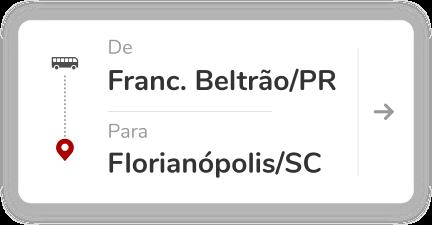 Francisco Beltrão PR - Florianópolis SC