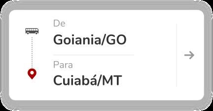 Goiania GO - Cuiaba MT