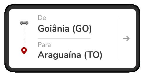 Goiânia (GO) - Araguaína (TO)