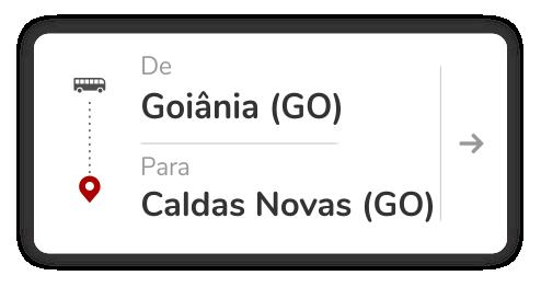 Goiânia (GO) - Caldas Novas (GO)