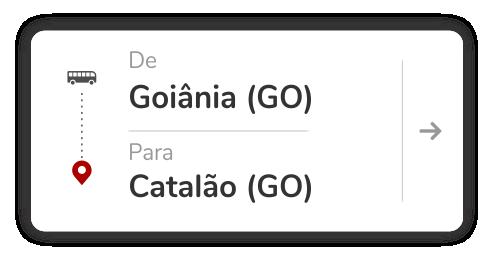 Goiânia (GO) - Catalão (GO)