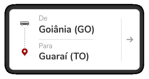 Goiânia (GO) - Guaraí (TO)