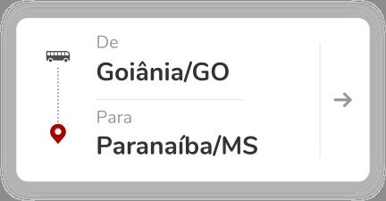 Goiânia (GO) – Paranaíba (MS)