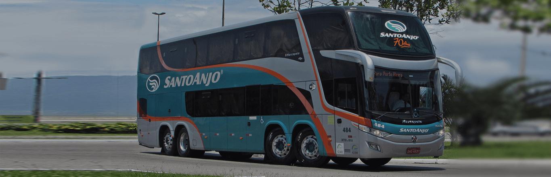 Frota ônibus Santo Anjo
