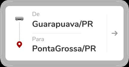 Guarapuava PR - Ponta Grossa PR