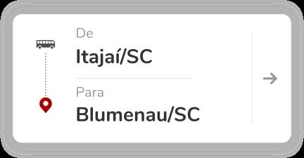 Itajaí SC - Blumenau SC