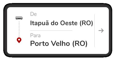 Itapuã do Oeste (RO) – Porto Velho (RO)