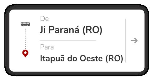 Ji Paraná (RO) - Itapuã do Oeste (RO)