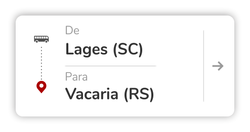 Lages (SC) - Vacaria (RS)