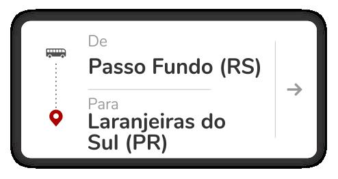 Passo Fundo (RS) - Laranjeiras do Sul (PR)