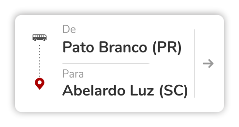 Pato Branco (PR) - Abelardo Luz (SC)