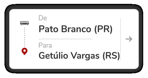 Pato Branco (PR) - Getúlio Vargas (RS)