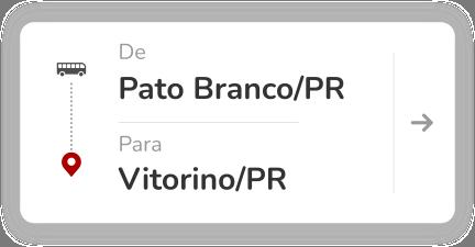 Pato Branco (PR) - Vitorino (PR)