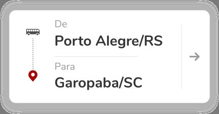 Porto Alegre RS - Garopaba SC