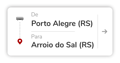 Porto Alegre (RS) - Arroio do Sal (RS)