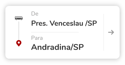 Andradina (SP) - Presidente Venceslau (SP)