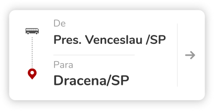 Presidente Venceslau (SP) - Dracena (SP)