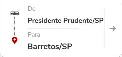 Presidente Prudente (SP) para Barretos (SP)