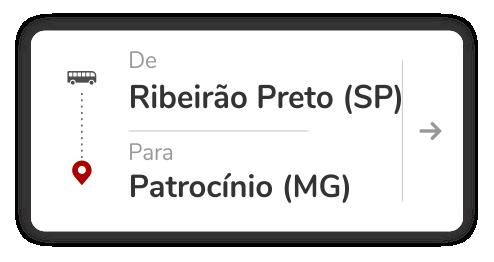 Ribeirão Preto (SP) - Patrocínio (MG)
