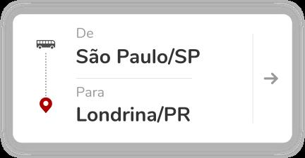 São Paulo SP - Londrina PR