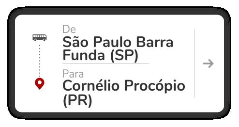 São Paulo Barra Funda (SP) - Cornélio Procópio (PR)