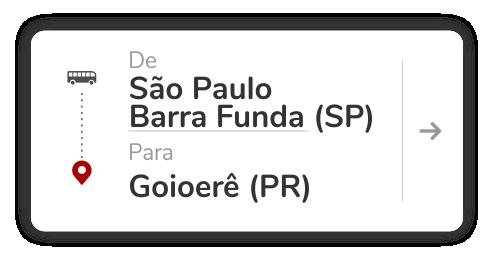 São Paulo Barra Funda (SP) - Goioerê (PR)