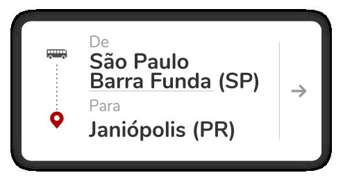 São Paulo Barra Funda (SP) - Janiópolis (PR)