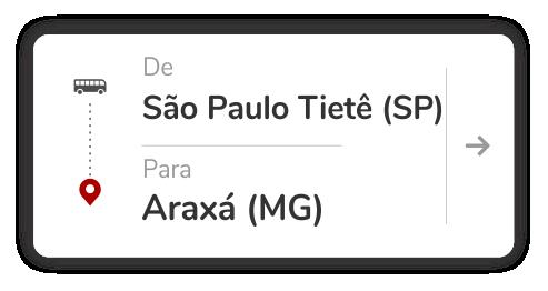 São Paulo Tietê (SP) - Araxá (MG)