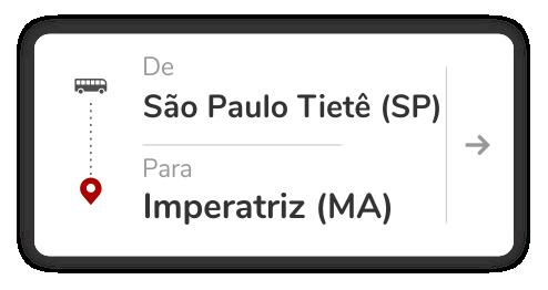 São Paulo Tietê (SP) - Imperatriz (MA)