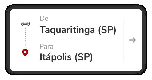 Taquaritinga (SP) - Itápolis (SP)