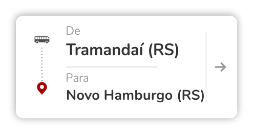 Tramandaí (RS) - Novo Hamburgo (RS)