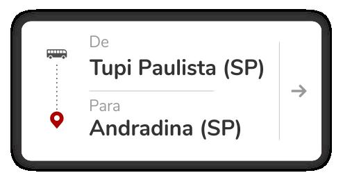 Tupi Paulista (SP) - Andradina (SP)