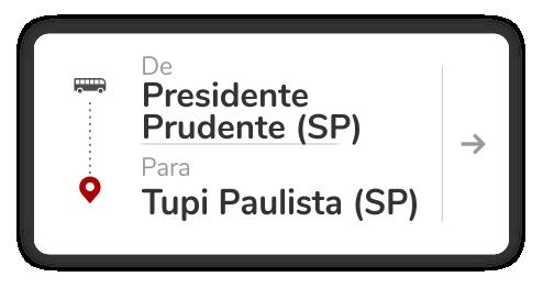 Presidente Prudente (SP) - Tupi Paulista (SP)