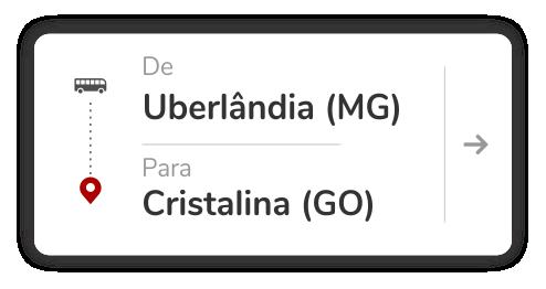 Uberlândia (MG) - Cristalina (GO)