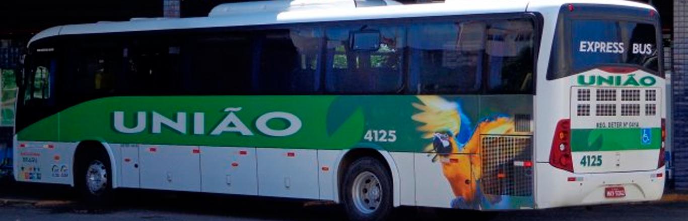 Frota de ônibus União